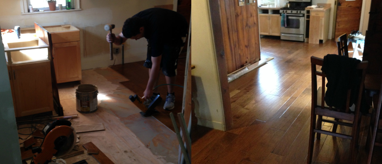 Flooring & Re-Finishing